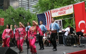 Turkish Day Parade in New York streets / PHOTO