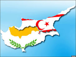 Greek Cypriot party visit Turkish Cypriot party headquarter
