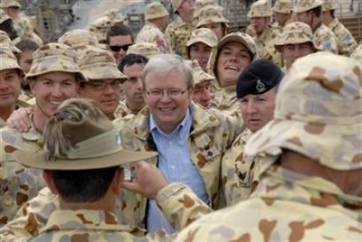 Australian combat troops pull out of Iraq