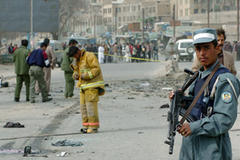 Kabul suicide attack 'kills four'