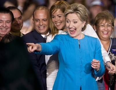 Clinton wins, but Obama closer to nomination