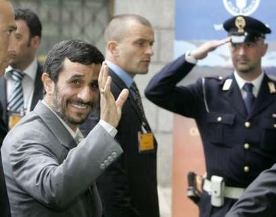 'Zionists' costs on Europe's shoulders': Ahmadinejad
