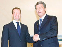 Medvedev meets leaders of the former Soviet Union