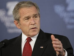 US Bush due to arrive in Slovenia for EU-US summit