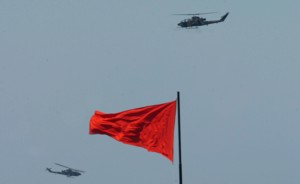 Turkish armed forces perform military exercise