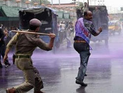 Kashmir shuts down over fuel protests