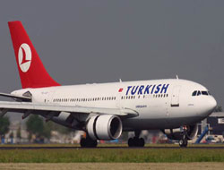 Turk airline's passengers up in five months