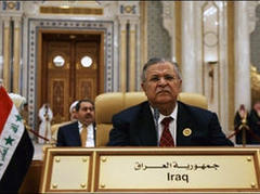 Talabani lashes out at US policy in Iraq