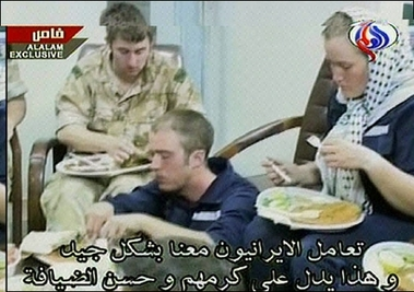Iran's news: British sailor admits to illegal entry