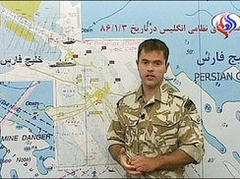 British sailors paraded on Iranian TV