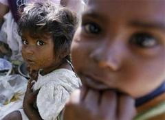 Children in India cheaper than buffaloes