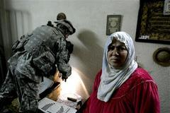 Iraqis complain about U.S. searches