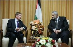 UK diplomat meets Haniya PM