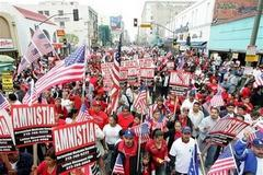 US Migrant workers demand rights