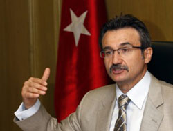 Turkish Minister in Uyghur's capital