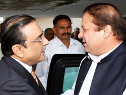 Pakistan coalitions dispute over judges issue