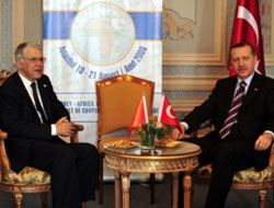 Erdogan meets PMs of several African countries PHOTO