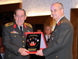 Turkey's top army post handed over to new General