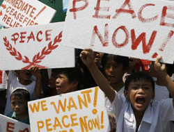 Philippines gives up 'peace talks' with Muslims