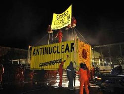Greenpeace activists enter French EDF nuclear plant