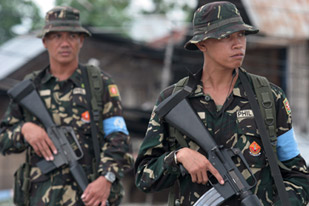 Communist rebels release 2 soldiers in Philippines south