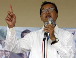 Cambodian opposition leader barred from parliamentary elections