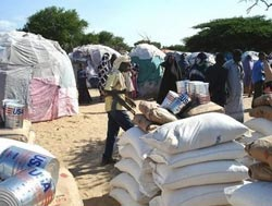 'World must commit aid on Africa despite world crisis'