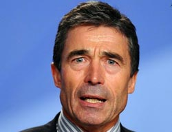 NATO to cut troops in Kosovo, Rasmussen says