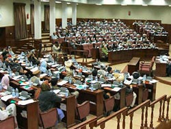 Afghan parliament calls for punishment of 'blasphemy' reporter