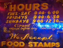 One in nine Americans use food stamps