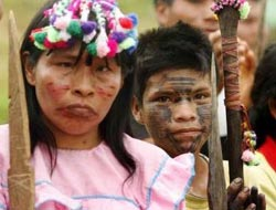 Peruvian Indians vow to protect Amazon against foreign firms