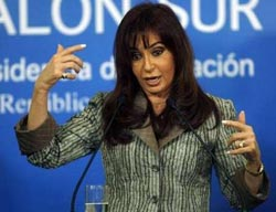 Argentina tries to fire central banker in debt row