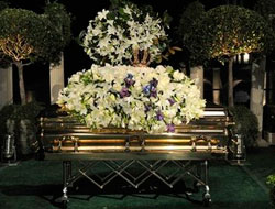 Michael Jackson laid to rest after two months