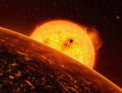 Scientists say 'super-Earth' has rocky surface