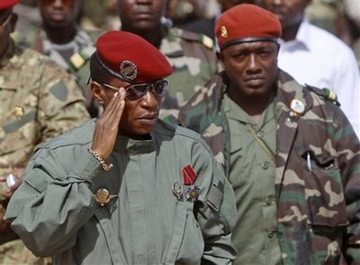 Guinea's Camara to stay abroad, two proposed for PM