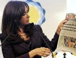 Argentine president fears coup, cancels foreign trips