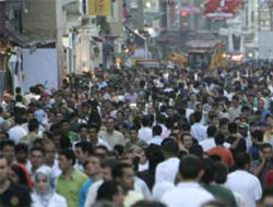 Turkey's population rises by 1.45 pc in 2009