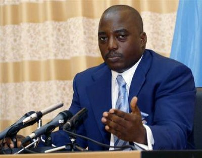 Thousands march in Congo against President Kabila