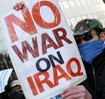 Global Protests Demand End of Iraq Occupation