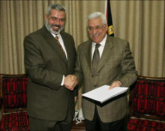 Hamas Submits Cabinet List