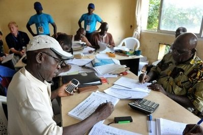 Guinea-Bissau votes in poll aimed at turning page on coup- UPDATED