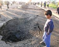 Blast in front of Iraqi School Claims the Life of a Student