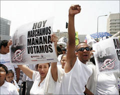 Immigrant protests hit US