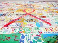 World's Largest Painting Fights AIDS in Morocco
