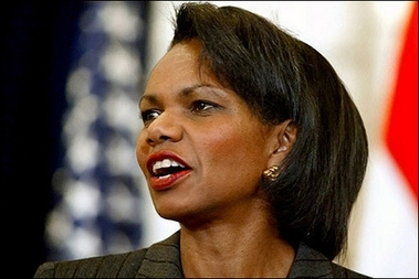 Rice: 'There will be a Palestinian state'