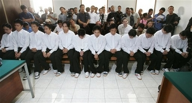 17 Christians convicted of killing Muslims in acts of terror