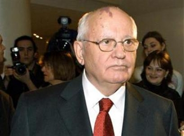 Gorbachev: 'Bush admin can not read the changing world'