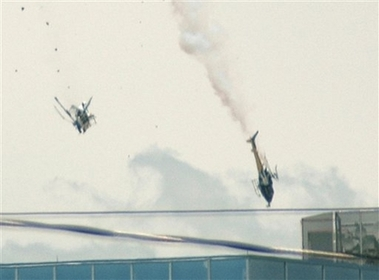 TV helicopters collide