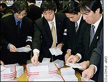 Odd Candidates Spruce Up Japan Elections