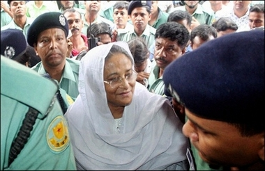 Bangladesh court grants interim bail to ex-PM